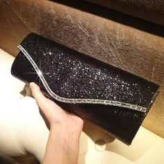 Classical Sequin Clutches/Satchel