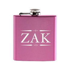 Personalized Stainless Steel Flask  (118140873)