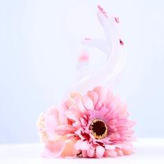Estilo clásico Atado a mano Seda artificiales Ramillete de muñeca -