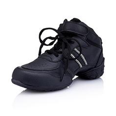 De mujer Niños Cuero Planos Zapatillas Entrenamiento Zapatos de danza