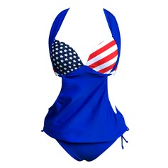 Sexy Stripe Bikini (202094698)
