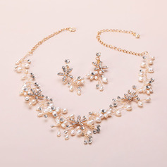 Elegant Rhinestones/Imitation Pearls Ladies' Jewelry Sets (011151380)