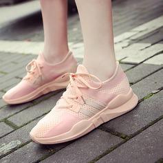 Женщины сетка Плоский каблук На плокой подошве обувь