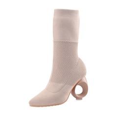 Vrouwen Suede Anderen Pumps Half-Kuit Laarzen schoenen