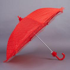 Elegant Spetsar Bröllops Paraplyer (124032709)