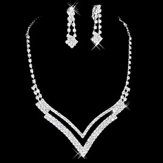Gorgeous Alloy/Rhinestones Women's Jewelry Sets