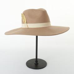 Par' Iögonfallande/Hetaste Ull Fedora Hat/Kentucky Derby Hattar