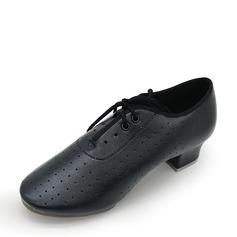 De los hombres Cuero Danza latina Zapatos de danza