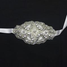 Enkle og Elegante Hånd Bundet Crystal Håndledd Corsage (som selges i et enkelt stykke) - Håndledd Corsage