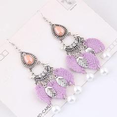 Vackra Och Legering Fauxen Pärla Damer' Mode örhängen