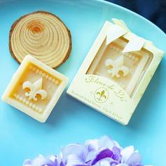 Fleur-de-Lis Scented Soap