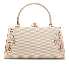 Modern PU Grepp/Satchel/Top Handle
