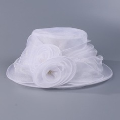 Ladies ' Gorgeous Organzastof med Blomst Diskette Hat/Kentucky Derby Hatte/Tea Party Hats