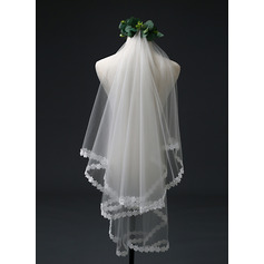 One-tier Elbow Bridal Veils (006221247)