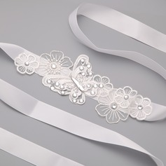Butterfly Shaped Lace/Satin With Rhinestone Ladies' Body Jewelry