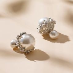 Udsøgt Legering/Imiteret Pearl Ladies ' øreringe