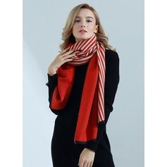 Gestreept te groot/Sjaal Kunstmatige Wool Sjaal