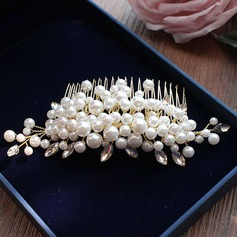 Estilo clásico Aleación/La perla de faux Peines y pasador
