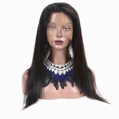 360 Frontal 5A Tout droit les cheveux humains Fermeture (Vendu en une seule pièce)