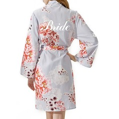 Personalized Bride Bridesmaid Cotton With Short Personalized Robes Embroidered Robes (248149553)