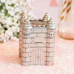 Erstaunlich Schloss Entwurf Zinn-Legierung Sparschwein