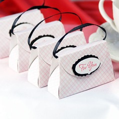 Handbag shaped Favor Boxes  (050005544)