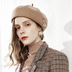 Signore Affascinante/Elegante Lana Basco Cappello