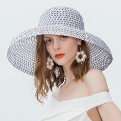 Damen Glamourös/Einfache Polyester Strand / Sonne Hüte