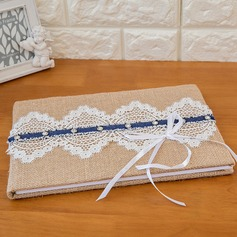 Classic Ribbons Guestbook & Pen Set