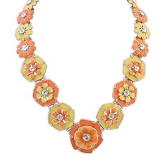 Gorgeous Legering Strass med Strass Damer' Mode Halsband
