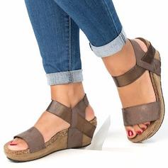 Naisten PU Wedge heel Sandaalit Kiilat jossa Muut kengät