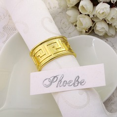 The Great Wall Pattern Napkin Rings
