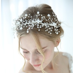 Classic Rhinestone Tiaras With Rhinestone (Sold in single piece)