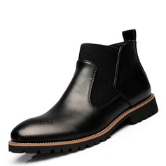 Men's Microfiber Leather Chelsea Casual Men's Boots
