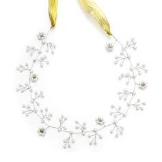 Filles Style Classique Strass/De faux pearl Bandeaux avec Strass/Perle Vénitienne (Vendu dans une seule pièce)