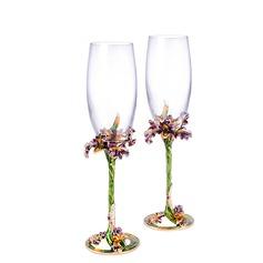 Personlig Elegant Skåle Glass Sett