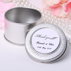 """Personalized """"Thank You"""" Tins Favor Tin (Set of 12)"""