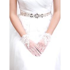 Тюль/кружева Свадебные перчатки