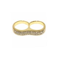 Shining Alloy With Rhinestone Ladies' Fashion Rings