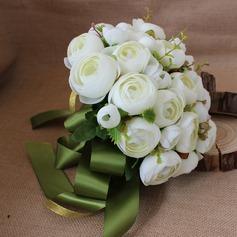 Magnifique Rond Satiné Bouquets de mariée (vendu en une seule pièce) - Bouquets de mariée