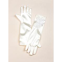 Cetim elástico Elbow Comprimento Glove