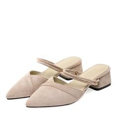 Femmes Suède Talon bottier Escarpins Chaussons avec Autres chaussures