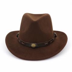 De los hombres Estilo clásico/Simple Mezcla de lana Sombrero de Panamá