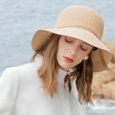 Ladies' Classic/Simple/Pretty/Fancy Raffia Straw Beach/Sun Hats