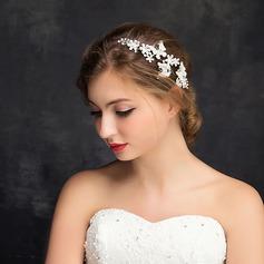Ladies Beautiful Rhinestone/Alloy Combs & Barrettes