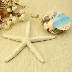 Sjöstjärnor och Snäcka Dekorativa tillbehör
