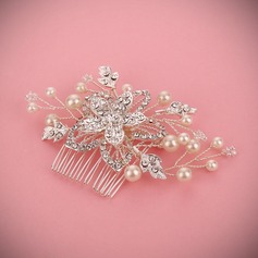Ladies Glamourous Alloy/Imitation Pearls Combs & Barrettes