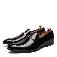 Mannen Patent Leather Penny Loafer Casual Kleding schoenen Loafers voor heren