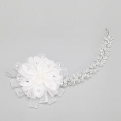Elegant Kristall/Legering Pannband