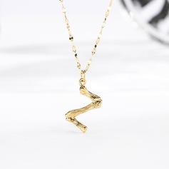 женские Уникальный позолоченный ожерелья Ее/Друзья/невесты